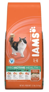 Iams Cat Hairball Control System Rich in Chicken