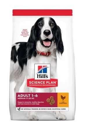 Hills canine adult chicken
