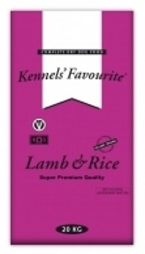 Kennels' Favourite Lamb & Rice