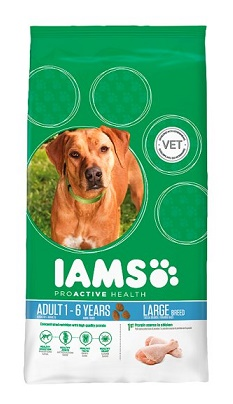 Iams Dog Adult Large Csirke