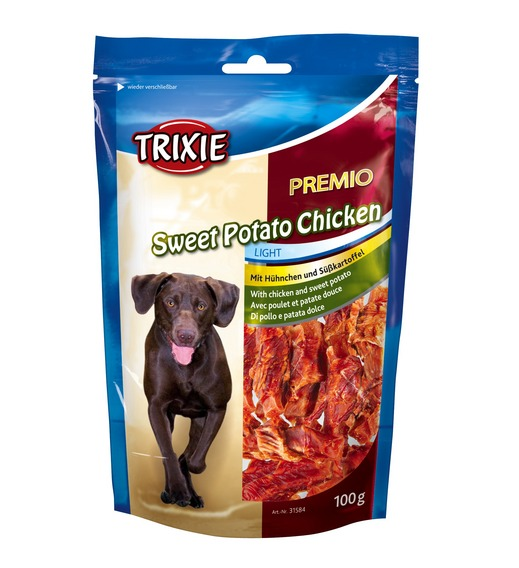 TRX31584 Jutalomfalat PREMIO Sweet Potato Chicken 100 gr