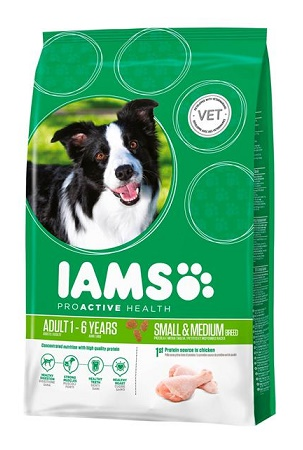 Iams Dog Adult Small & Medium Csirke
