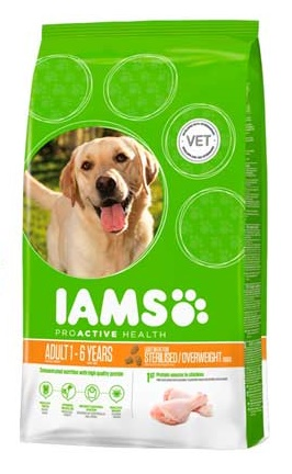 Iams Dog Adult weight control Csirke