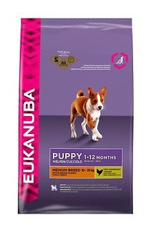 Eukanuba Puppy & Junoir Medium Breed