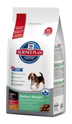 Hills canine Adult Perfect Weight Medium