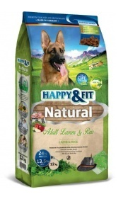 Happy&Fit Natural Adult Lamm&Reis