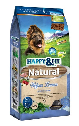 Happy&Fit Natural Welpen Lamm