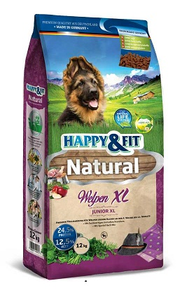 Happy&Fit Natural Welpen XL