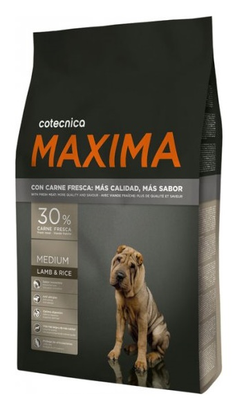 MAXIMA MEDIUM SENSIBLE LAMB&RICE