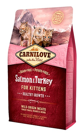 Carnilove Cat Kitten Salmon & Turkey