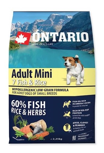 Ontario Adult Mini 7 Fish & Rice