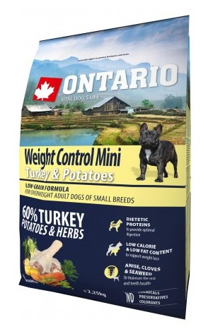 Ontario Weight Control Mini - turkey & potatoes