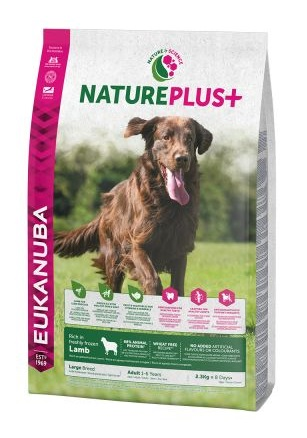 Eukanuba NaturePlus+ Adult Large Dog bárány