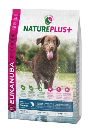 Eukanuba NaturePlus+ Adult Large Dog lazac