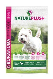 Eukanuba NaturePlus+ Adult Small Dog bárány