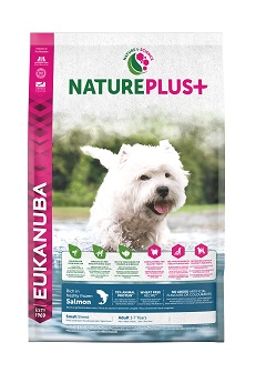 Eukanuba NaturePlus+ Adult Small Dog lazac