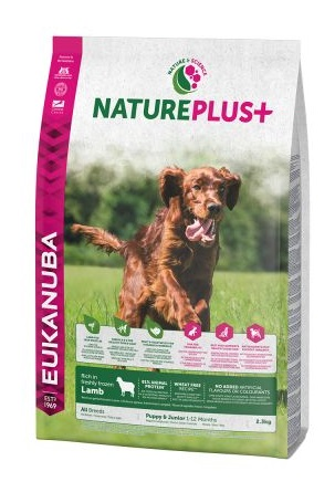 Eukanuba NaturePlus+ Puppy Dog bárány
