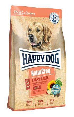 Happy Dog NaturCroq Adult Lachs & Reis