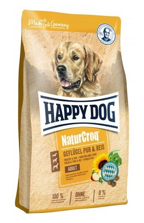 Happy Dog NaturCroq Adult Geflügel & Reis